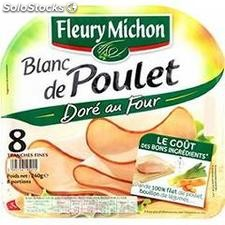 240G 8T filets de poulet dore au four fleury michon