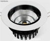 24w cob led recessed Downlight 2400lm - 2640lm Alta brillo alta calidad cri 90
