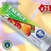 25 barres ENERGY airelles-abricot - Lubs