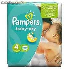 25 changes baby dry pqt T4 pampers
