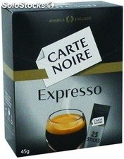 25 sticks cafe expresso classic carte noire