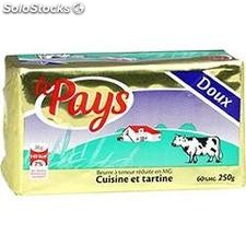 250G beurre doux 60%mg