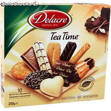 250G bte assortiment tea time delacre