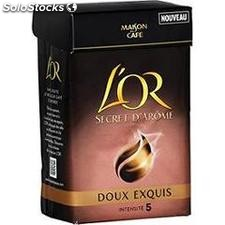250G cafe moulu l'or doux exquis maison du cafe