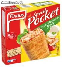 250G speed pock poulet/mozzarella findus