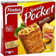 250G speed pocket raclette findus