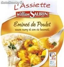 280G emince dinde curry/riz william saurin