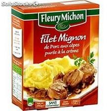 290G filet mignon de porc cepe/puree fleury michon