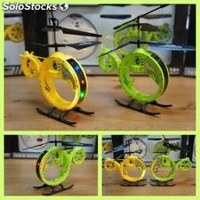 2ch rc helicoptero con luces
