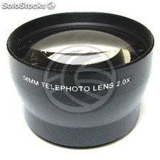 2X telephoto lens 58mm mount (JH77)