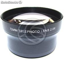 2X telephoto lens 72mm mount (JH83)