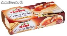2X100G creme brulee nature rians triballat