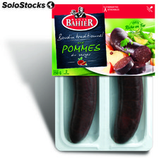 2X125G boudin pommes secable bahier