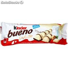 2X2 barres kinder bueno white