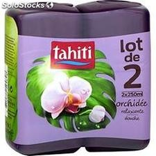 2X250ML douche orchidee tahiti