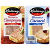 2X50G duo mousse de canard/terrine campagne madrange