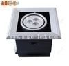 3*1w led recessed movable grille light high lumen with 3 years warranty