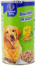 3/2 bouchee poulet carottes/pate grand jury