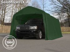 3,30x4,80 m Tendone garage, Box Auto mobile, PVC verde scuro