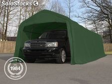 3,30x9,60 m Tendone garage, Box Auto mobile, PVC verde scuro
