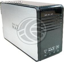3.5 External Box hdd 2xSATA-lan (tcp/ip raid 0/1) (CE56)