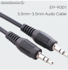 3.5mm-3.5mm cable audio macho a macho con buen precio cables al por mayor