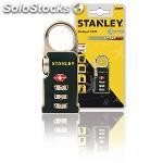 3-digit combination tsa travel lock zinc alloy lock body with abs housing 30 mm