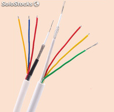 3 en 1 Cable de sistemas de vigilancia cctv video Cables de CCTV