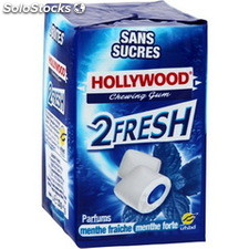3 etuis dragee sans sucre 2 fresh menthe forte hollywood