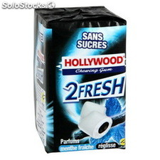 3 etuis fresh menthe/reglisse tripack hollywood