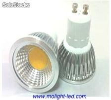 3 Watts cob Focos led 110v 127v e27/gu10/mr16/e14/gu5.3 Brillo 330lm
