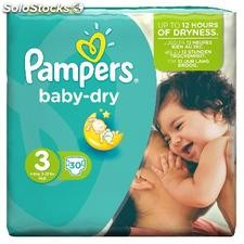 30 changes baby dry pqt T3 pampers