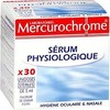 30 doses serum physiologique mercurochrome