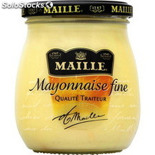 300G bocal verre mayonaise fine maille
