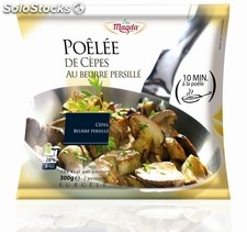 300G poelee cepes beurre persille magda
