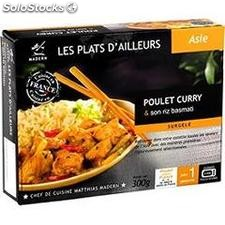300G poulet curry madern