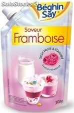 300G sucre aromatise framboise beghin say
