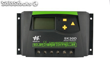 30A 12 / 24V Solarmodul nach Hause Power System-Controller-LCD-Display