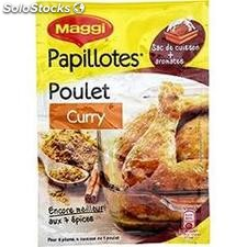 30G papillote poulet curry maggi