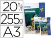 31964 Papel epson premium glossy pho to paper a3 (20hojas) 255gr. 255 gr.