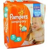 32 changes super dry midpack junior pampers