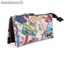 32312 carryall triplo mark skpa t Multicolor