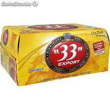 33 export biere btl 24X25CL