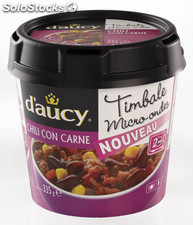 335G chili con carne timbale d'aucy
