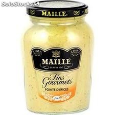 340G moutarde pointe epices maille