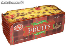 350G cake fruit 5 tranches pur beurre
