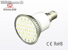 3528 smd led spot light, 2.4w, e14 base, 48pcs 3528 LEDs, home lighting