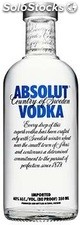 35CL vodka absolut blue 40°