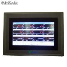 36-channel paperless recorder data logger hmi