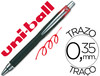 36309 Boligrafo uni-ball jetstram sxn-210 retractil color rojo